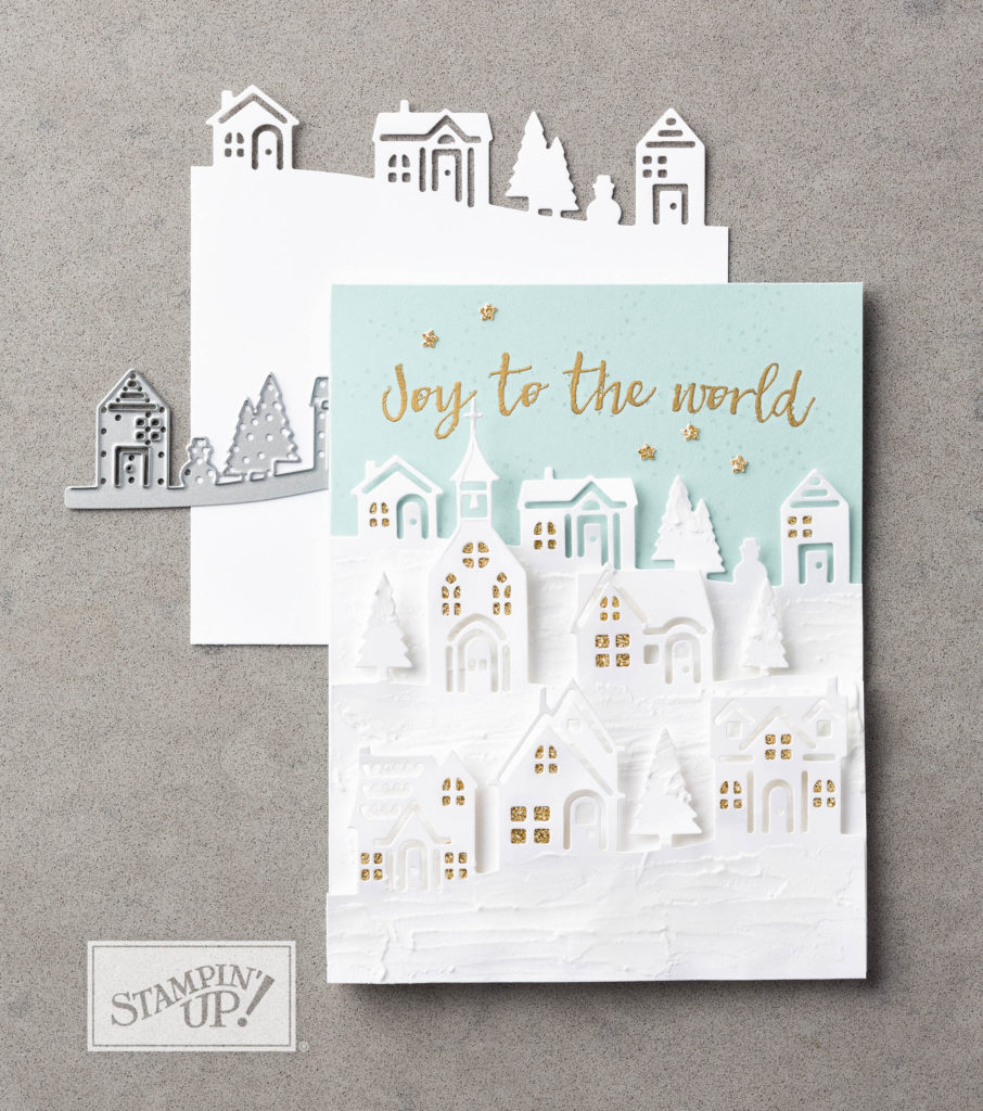 Extreme Christmas Cards Stampin' Up! Uk Amanda Fowler Inspiring Inkin'