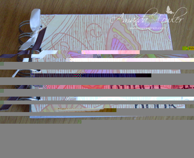 Punch book stampin up