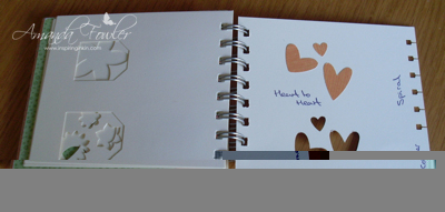 Heart to Heart punch stampin' up!
