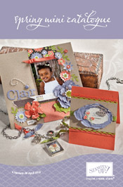 Stampin' Up! UK mini catalogue