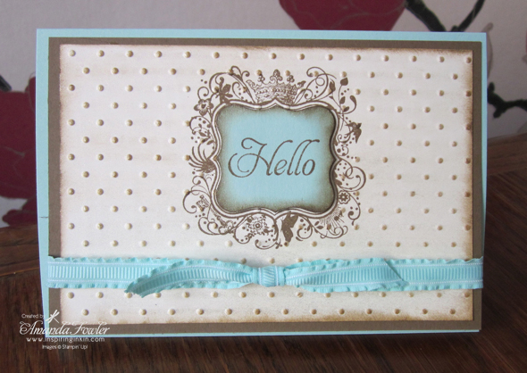 Stampin' Up! Sale-a-bration Elementary Elegance