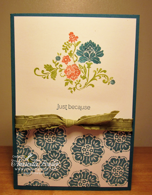 Sale-a-bration Fresh Vintage Stampin' Up!