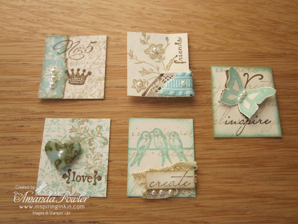 Stampin Up UK simply adorned