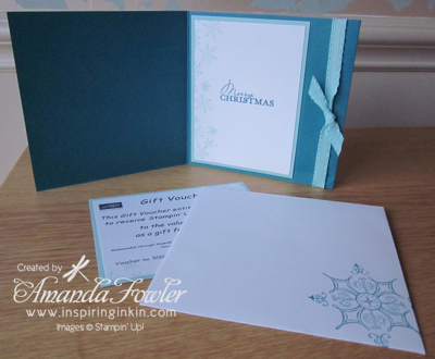 stampin up uk gift voucher