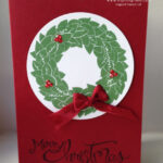Wreath Card Stampin