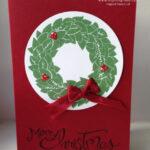 Wreath Card Stampin