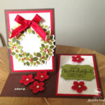 Wondrous Wreath Video Stampin