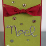 Noel Christmas Card Stampin