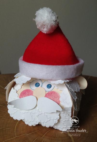 Stampin' Up! UK santa - curvy keepsake die