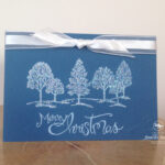 Lovely as a Tree Quick and Wow Christmas Card Stampin