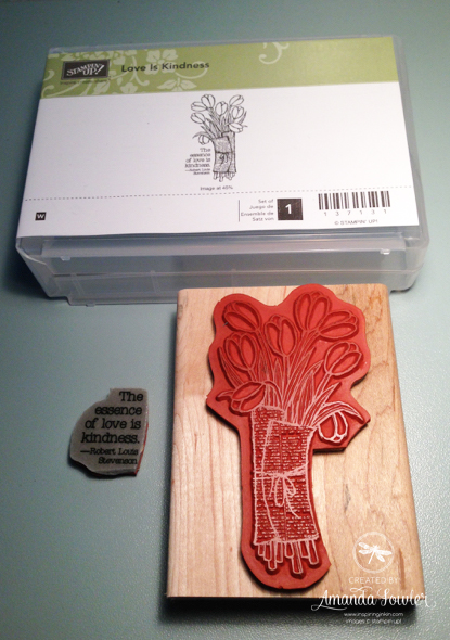 Love is Kindness Stampin' Up! UK