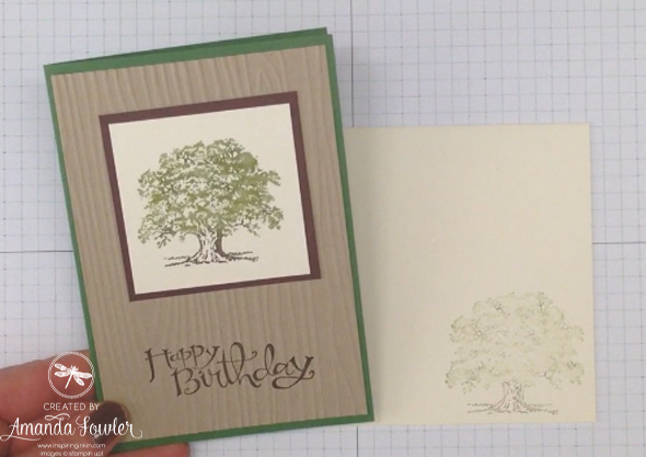 Lovely as a Tree Stampin' Up! UK