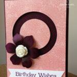 Circle Spinner Card Stampin