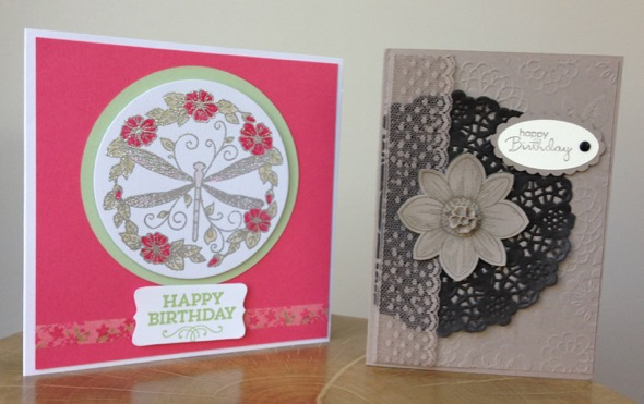 Amanda Fowler Stampin' Up! birthday cards - 3