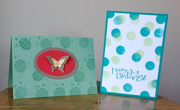 Amanda Fowler Stampin' Up! birthday cards - 5
