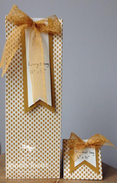 Gift Bag Punch Board by Amanda Fowler of Inspiring Inkin'