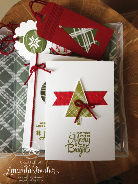Amanda Fowler Stampin' Up! Christmas Box - 2 copy