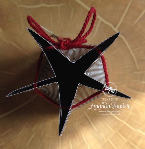 amanda fowler star box stampin' Up! UK