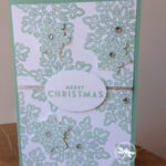 Flurry of Wishes Christmas Card Stampin