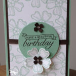 birthday blossoms stampin up Uk Inspiring Inkin Amanda fowler