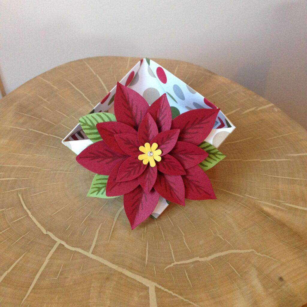 Origami Bowl Video Stampin' Up! Uk Amanda Fowler Inspiring Inkin'