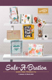 Sale-a-bration 2016 SAB Stampin' Up!