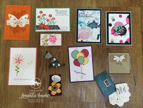 Stampin' Up! UK Amanda Fowler Inspiring Inkin'
