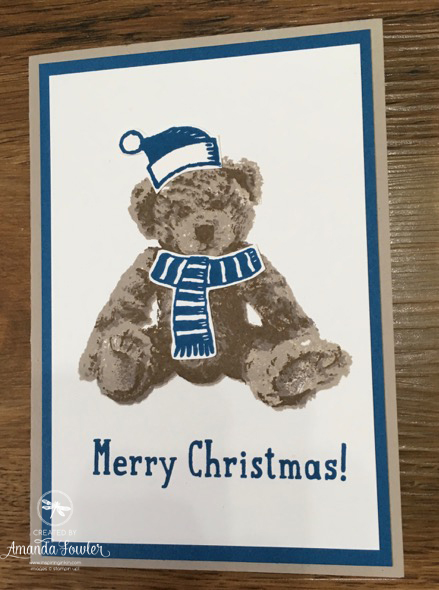 baby bear 2 stampin up uk inspiring inkin