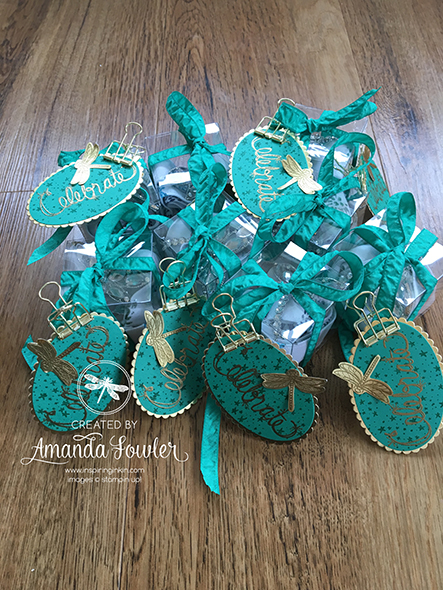 Inspiring Inkin Team Gifts and Swaps Amsterdam Onstage 2017 Stampin' Up!