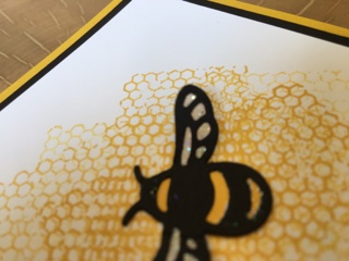 Glitter wings Stampin' Up! UK Amanda Fowler Inspiring Inkin'