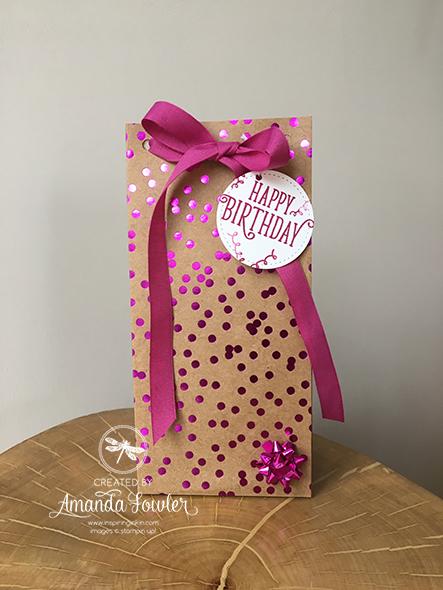 Happy Birthday Gorgeous Stampin' Up! Uk Inspiring Inkin' Amanda Fowler