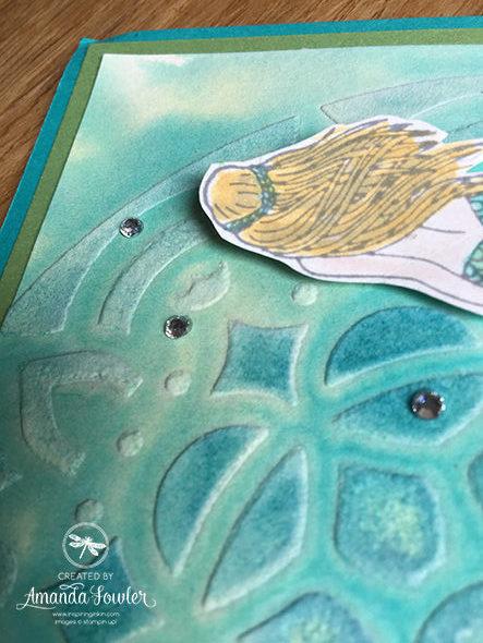 Embossing Paste Master Class Video 2 Inspiring Inkin' Amanda Fowler Stampin' Up! UK