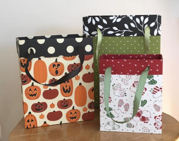 Any Size Gift Bag Video Amanda Fowler Inspiring Inkin' Stampin' Up! UK