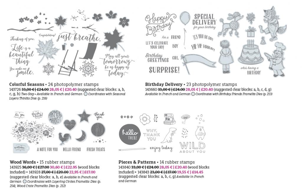 Amanda fowler Inspiring Inkin' Stampin' Up! Uk Promotions World Card making Day