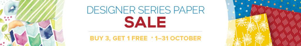 Amanda fowler Inspiring Inkin' Stampin' Up! Uk Promotions Designer Series Paper Sale