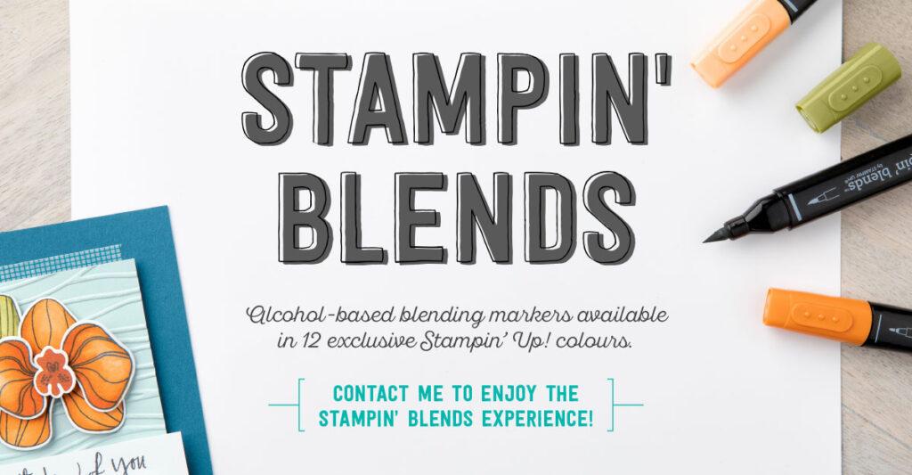Stampin' blends Inspiring Inkin Amanda Fowler