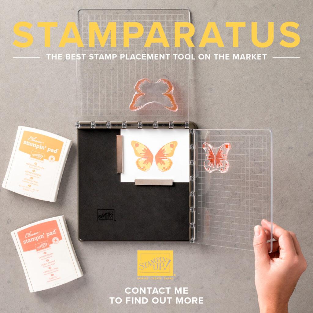 Inspiring Inkin' Stamparatus Amanda Fowler Stampin Up! UK