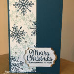 Quick Christmas Card Stampin