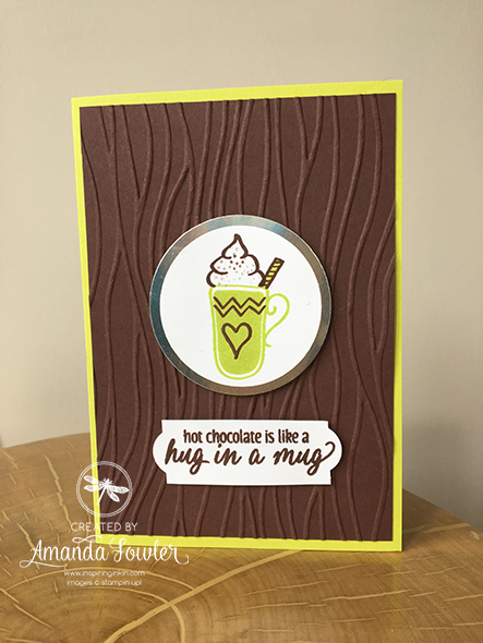Hug in a Mug Stampin' Up! UK Amanda Fowler Inspiring Inkin
