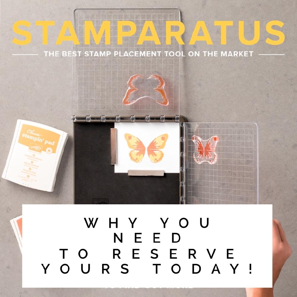 Stampin Up ! Stamparatus Inspiring Inkin Amanda Fowler
