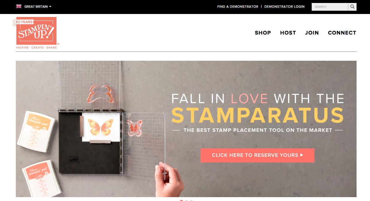 Inspiring Inkin Amanda Fowler Stamparatus reservation