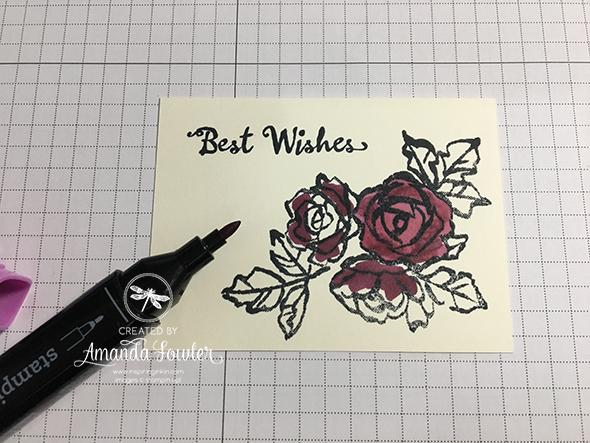 Stamping Techniques 101 Blog Hop Amanda Fowler Stampin' Up! Uk Inspiring Inkin Blends