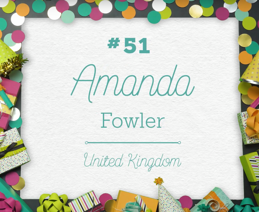 Stampin' Up! Uk Amanda Fowler Global No 51 Inspiring inkin'