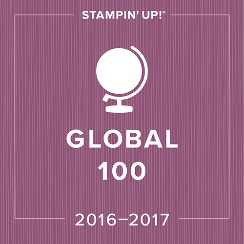 Global 100 Stampin' Up! Amanda Fowler Inspiring Inkin'