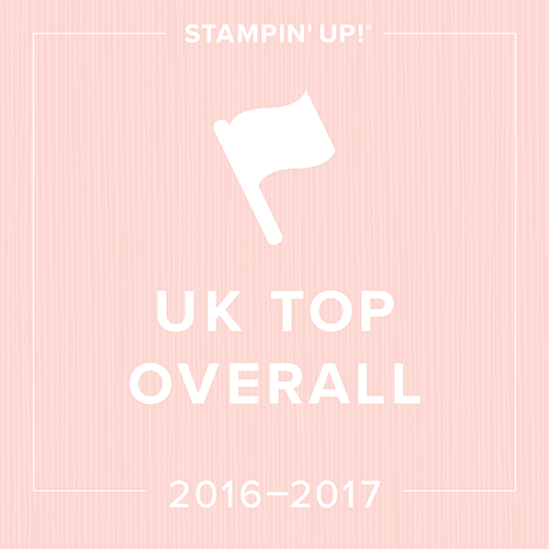 Uk top 10 Global 100 Stampin' Up! Amanda Fowler Inspiring Inkin'