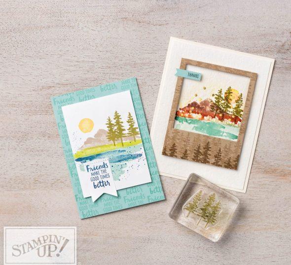 Waterfront Stamp set Inspiring inkin Amanda Fowler Stampin' Up! UK