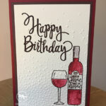 Half Full Birthday Card Stampin