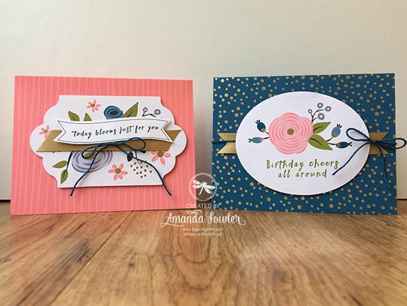 Perennial Birthday Stampin Up UK Amanda Fowler Inspiring Inkin