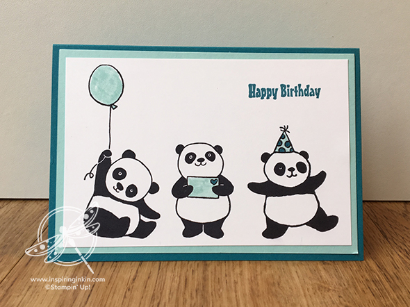 Party Panda Stamparatus Inspiring Inkin' Video Amanda Fowler Stampin' Up! UK