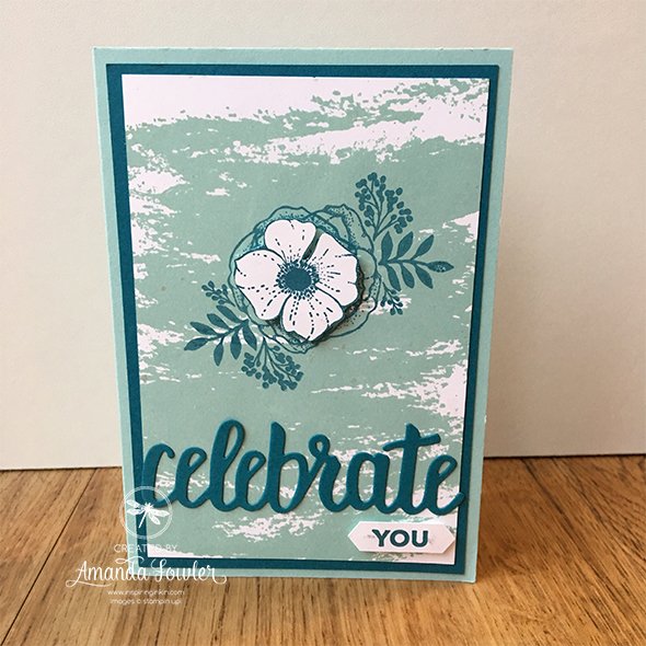 Amazing You Sale-a-bration Stampin' Up! Uk Amanda Fowler Inspiring Inkin